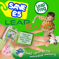 Save £5 On LEAPBAND WAS £29.99 - NOW £24.99