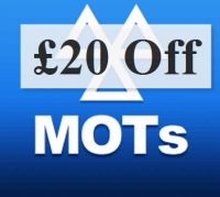 £20 off MOT at EMS