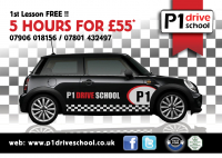 5 LESSONS for £55* DOOR 2 DOOR SERVICE-SHEFF-BARNS-ROTH