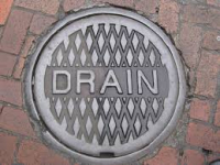 Clearing blocked drains - £40