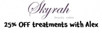 25% OFF with Alex at Skyrah Beauty Epsom @skyrahbeauty