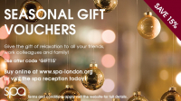 15% off gift vouchers until the end of December @spalondon