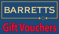 Gift Vouchers at Barretts of St Neots