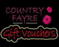 Gift Vouchers at Country Fayre Florists