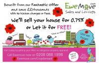 Sell your house for 0.75% fee or let it for free!