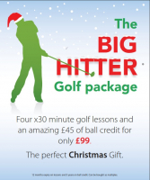 Give the gift of golf this Christmas - only £99 (RRP £155!)
