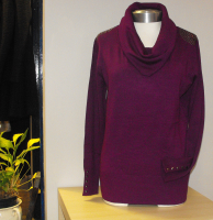 Be quick ladies - cowl neck jumpers 1/2 price