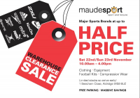 UP TO HALF PRICE SALE - SAVE ON MAJOR SPORTS BRANDS