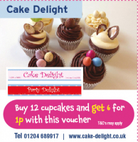 Buy 12 cupcakes and get 6 for 1p!