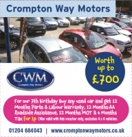 Buy a car and get £700 worth of extras for only 1p!