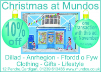 10% off Clothing, Gifts And Lifestyle Products at Mundos this November.