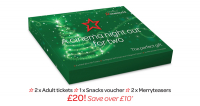 Christmas Cinema Gift box only £20 saving you £10