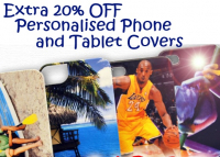 Further 20% OFF Personalised Phone and Tablet Cases (Includes all latest products)