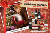 Save money and have the chance to win a Christmas hamper!