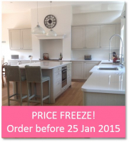 Kitchen Price Freeze - Order before 25 Jan 2015