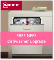 Free upgrade to a Which? Best Buy NEFF dishwasher
