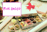 Free chocolates in December with orders over £40 at Pink Orchid