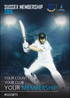 Save 10% on your Sussex County Cricket Club Membership 2015