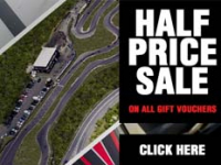 Half Price Gift Vouchers at Brentwood Karting