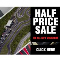 Half Price Gift Vouchers at Lakeside Karting