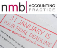 Get your Tax return records to us by 7th Jan and we will file by 31st Jan – saving you a fine – NMB Accounting.