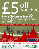 £5 Off Voucher at Oswestry Christmas Trees Farm