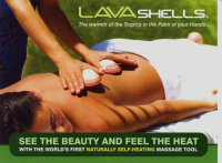 Lava Shells Back Massage £30 instead of £35