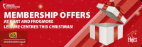 Christmas membership offer
