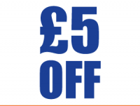 £5 off any Christmas Tree