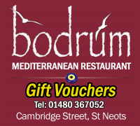 The Bodrum Turkish Restaurant St Neots Gift Vouchers
