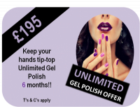 Unlimited Gel Polish Offer