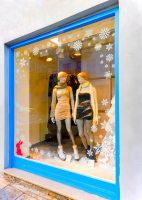 10% off Christmas Vinyl Window Graphics