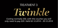 The 12 Treatments of Christmas - Treatment 3 - Twinkle