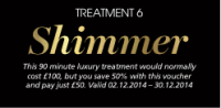 The 12 Treatments of Christmas - Treatment 6 - Shimmer