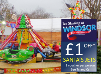 £1 off Santa's Jets ride
