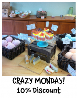 CRAZY MONDAY! 10% discount on all products in the Ewell shop @AlphyandBecs
