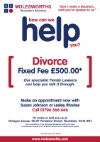 Fixed Fee £500 Divorce from Molesworths Solicitors