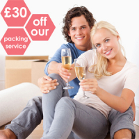£30 off our packing service