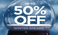 Up to 50% off Winter Breaks