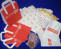 "Printed Stock Range - ""Lunch to Go"""