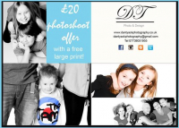 Family Photoshoot £20 + Free large print!