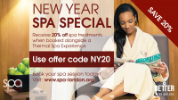 New Year Spa Special - 20% Off Spa Treatments @spalondon