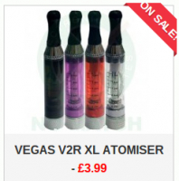Up to 70% Off - Vegas Z V2r XL Atomiser - £3.99