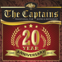 BUY ONE MEAL, GET ONE FREE, WHEN YOU EAT AT THE CAPTAINS