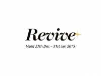 REVIVE - January 50% Off Facial Treatment