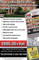 SELL YOUR PROPERTY FROM JUST £695 PLUS VAT WITH SIMPLY RESIDENTIAL