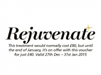 REJUVINATE - January 50% off massage therapies