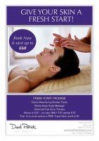 Elemis Travel Pack worth £30 for the first 10 to book a Fresh Start Package @DavidPatrickEps