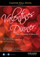 Valentines at Caistor Hall Hotel