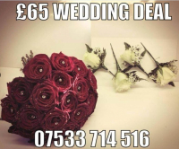 £65 WEDDING DEAL FROM BURY FLOWERS